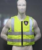 Fluor Gele hoes t.b.v veiligheidspanelen Engarde_
