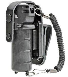 Houder voor pepperspray MK-3 draaibaar met valbescherming en lanyard