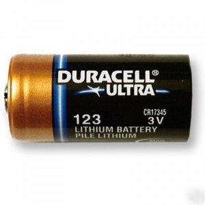 CR123A Lithium batterij