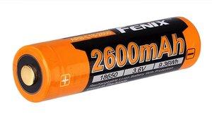 Fenix accu 3,6V - 2600mAh 18650