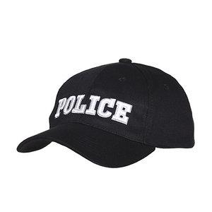Pet / cap zwart Police