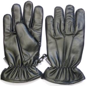 Lederen fouillerings handschoenen