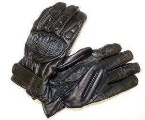 Lederen handschoenen snijwerend en knokkelbescherming klasse 5