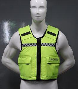 Fluor Gele (handhaving) hoes t.b.v veiligheidsvest SPE