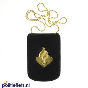Legitimatie houder met halsketting Politie, nog te koop t/m 30-09-2019