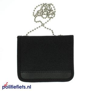 Legitimatie/ID houder met halsketting Klein