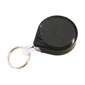 Legitimatie katrol 32 mm met clip, 90 cm nylon kabel en sleutelring