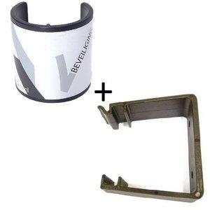 Deurklem / Deurstopper Beveiliging + houder COMBI DEAL