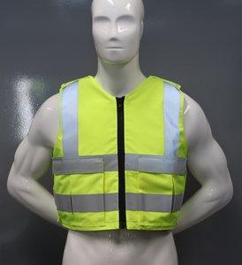 Fluor Gele hoes t.b.v veiligheidspanelen Engarde
