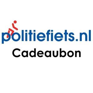 Cadeaubon politiefiets.nl