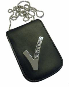 Legitimatie houder met halsketting Beveiliging