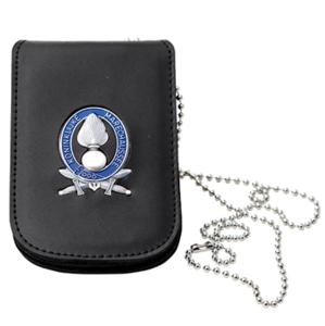 Legitimatie houder met halsketting Koninklijke Marechaussee